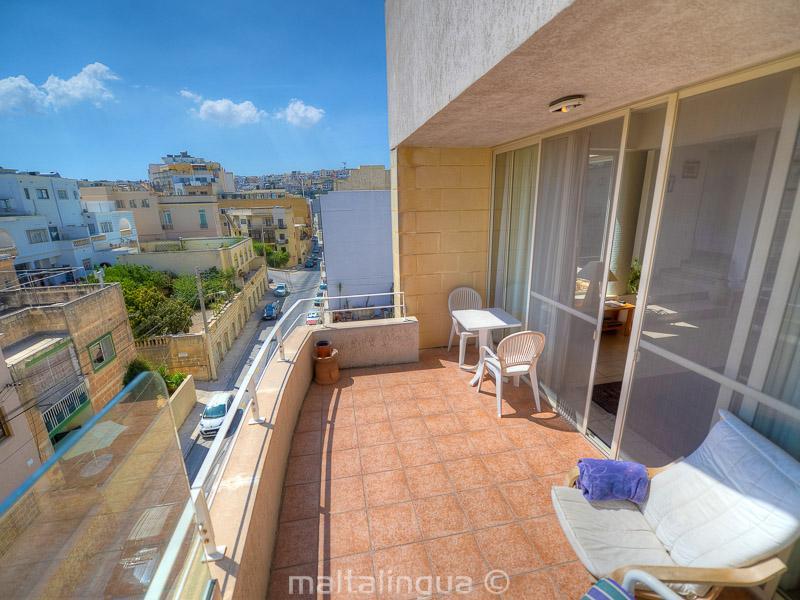 Balkon Englisch fotoalbum der sprachschüler apartments in malta st julians