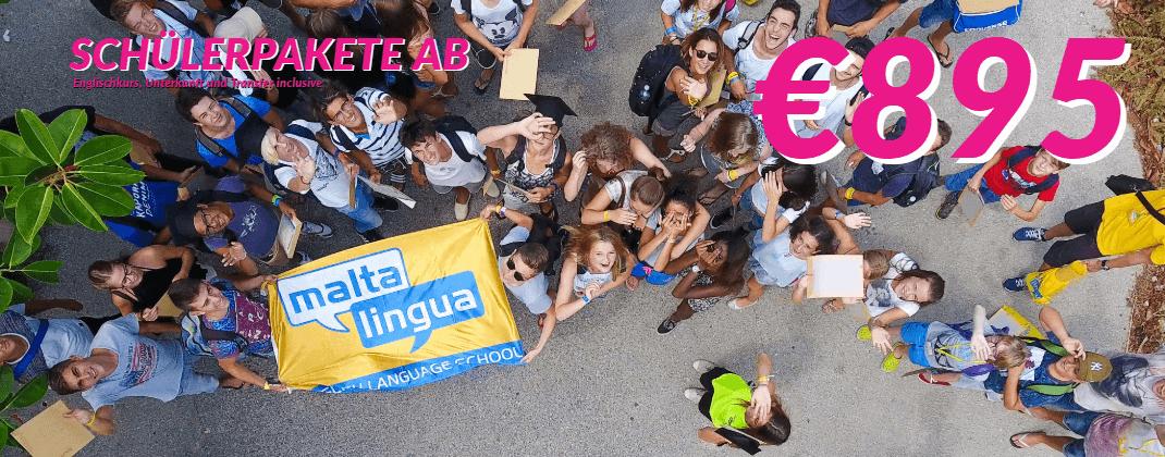 Englisch Sprachpakete Schüler Maltalingua