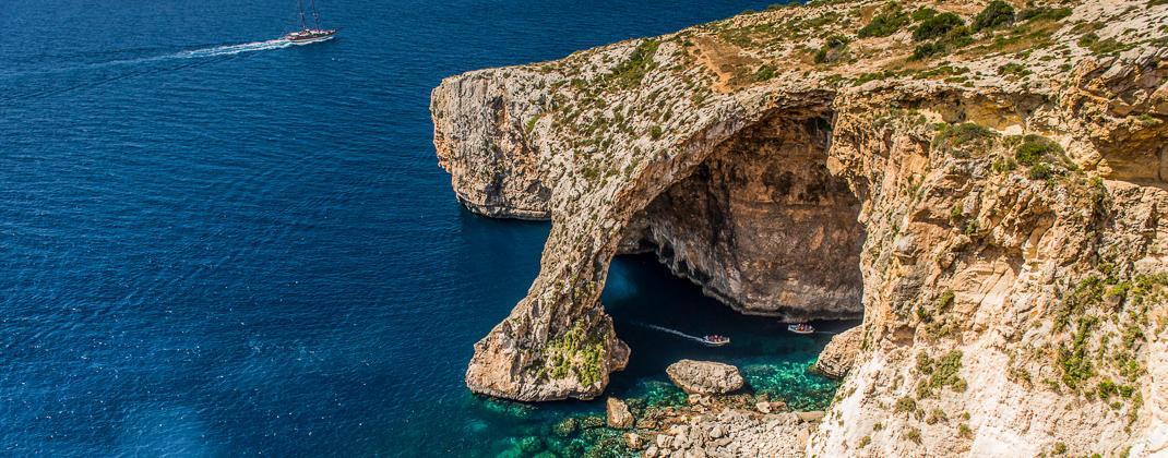 Blaue Grotte Bootsfahrt