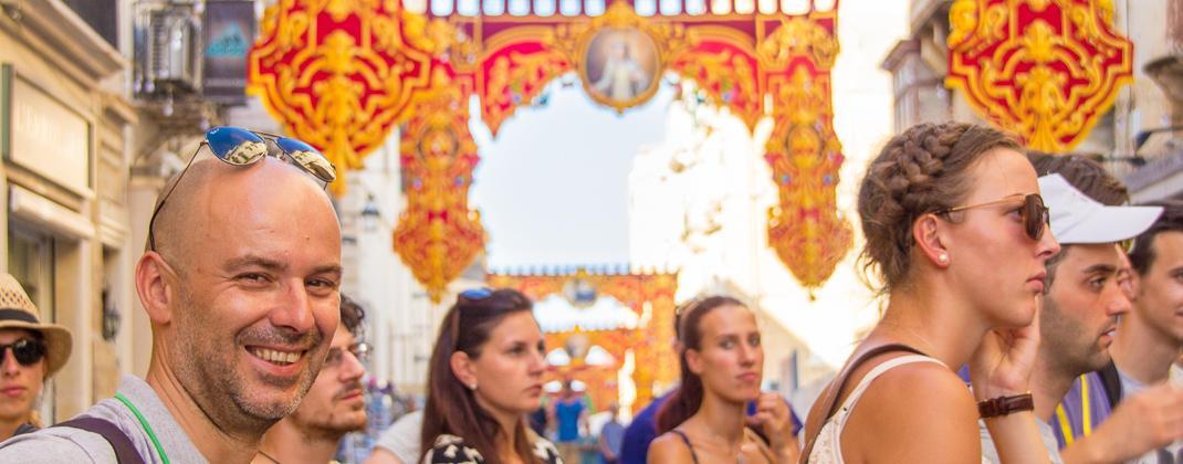 Fest in Valletta