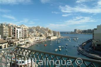 Hotel Juliani Blick auf Spinola Bay
