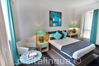 Hotel Juliani Schlafzimmer, Malta, St Julians