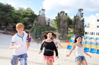 Englisch Sprachschule sportliche Aktivitäten auf Malta