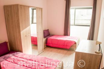 Doppelzimmer Unterkunft in der Sprachschule in Malta