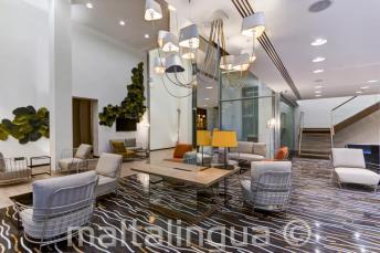 Hotel Valentina Lobby, St Julians