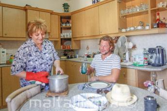 Unsere Gastfamilien bieten Halbpension an