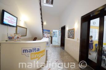 Malta Englisch Sprachschule Rezeption