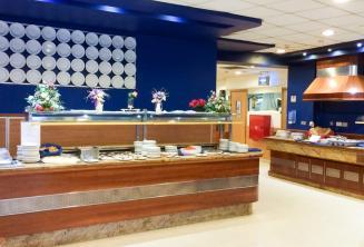 Buffet Essbereich in der Junior Residenz