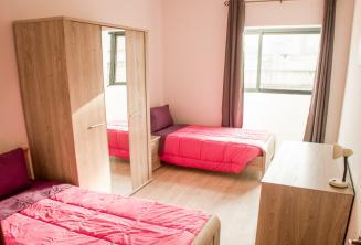 Doppelzimmer Unterkunft in der Sprachschule in Malta, St. Julians