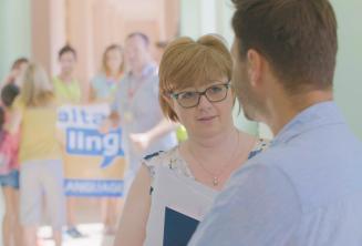 Maltalingua Belegschaft im Schülersprachreisen Sommercampus
