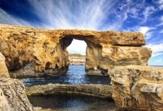 Das Azure Window in Gozo