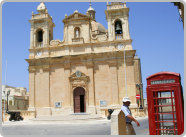 British Phone Box Malta